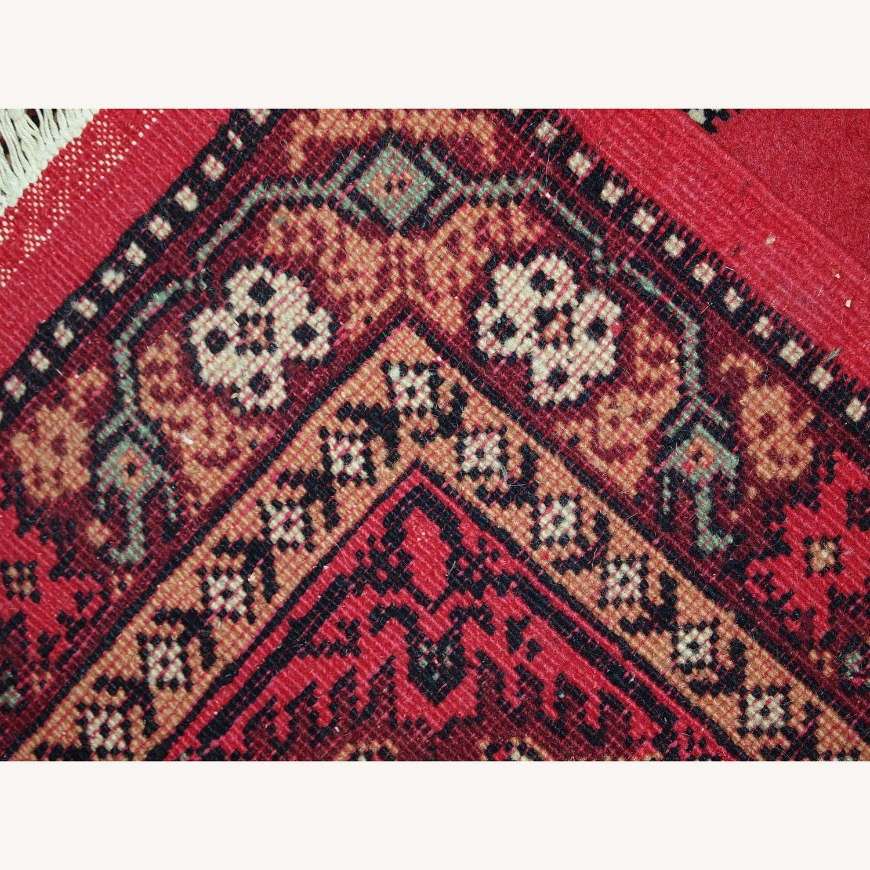 Handmade Vintage Algerian Berber Rug - image-7