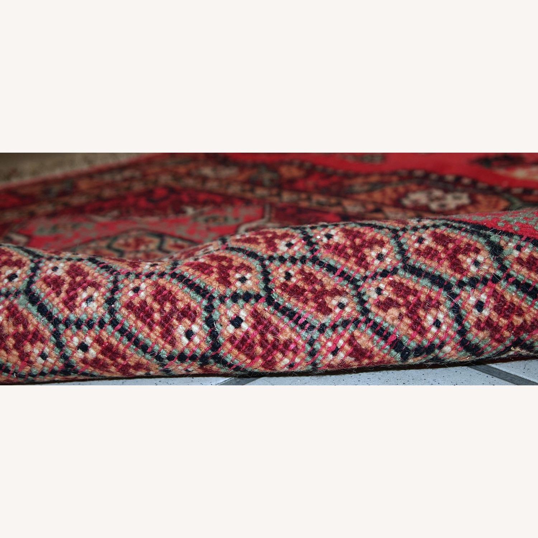 Handmade Vintage Algerian Berber Rug - image-2