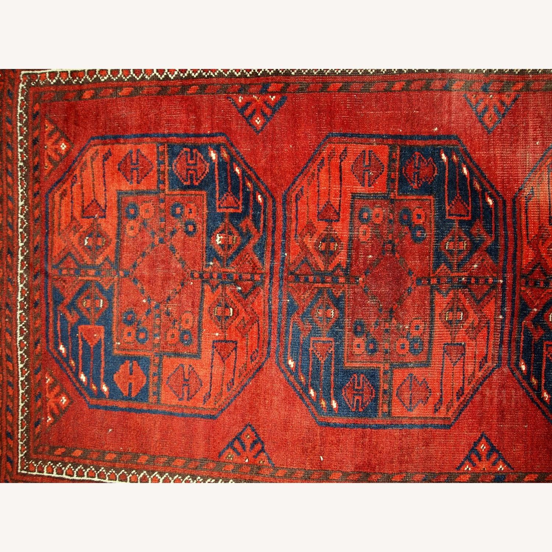 Handmade Vintage Afghan Ersari Rug - image-8