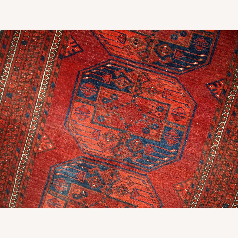 Handmade Vintage Afghan Ersari Rug - image-5