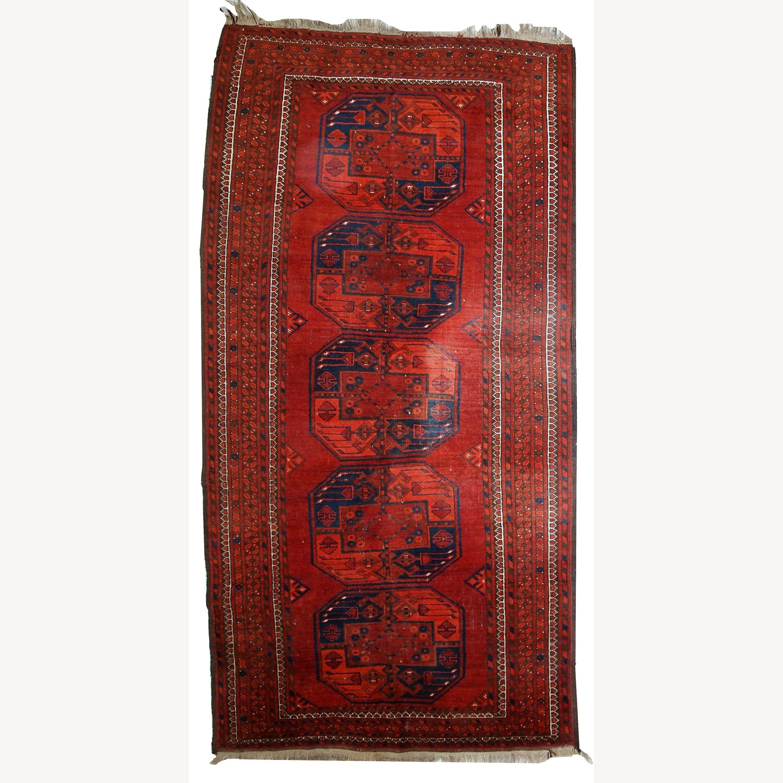 Handmade Vintage Afghan Ersari Rug - image-1