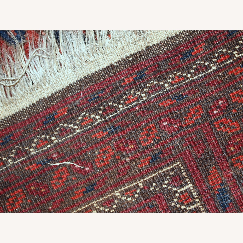 Handmade Vintage Afghan Ersari Rug - image-7