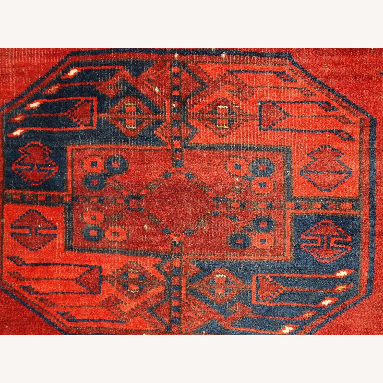 Handmade Vintage Afghan Ersari Rug - image-4