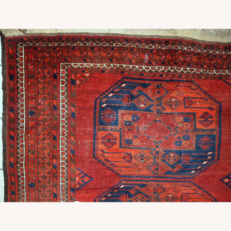 Handmade Vintage Afghan Ersari Rug - image-6