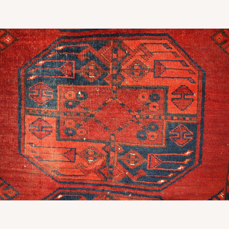 Handmade Vintage Afghan Ersari Rug - image-11