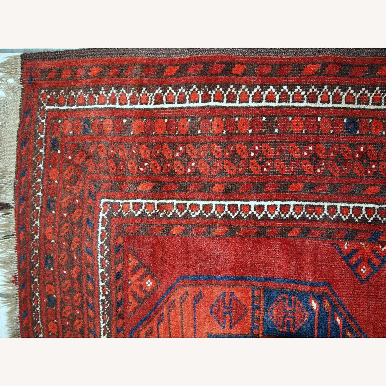 Handmade Vintage Afghan Ersari Rug - image-12