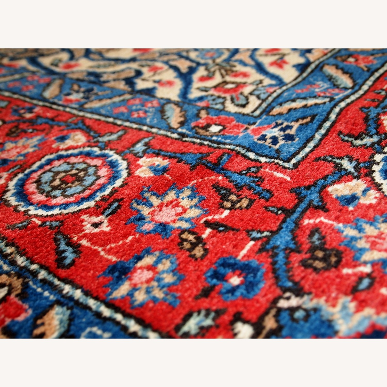 Handmade Antique Persian Lilihan Rug - image-14