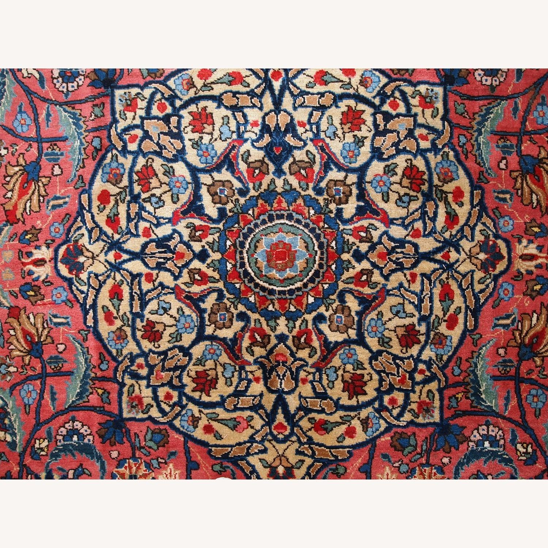 Handmade Antique Persian Lilihan Rug - image-12