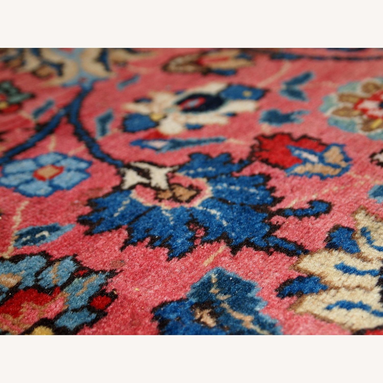 Handmade Antique Persian Lilihan Rug - image-11