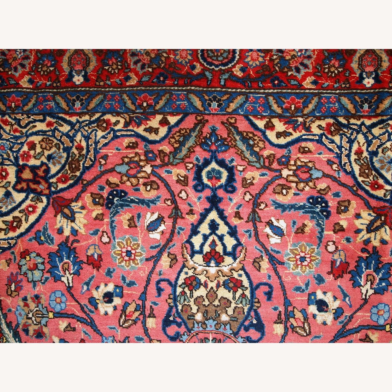 Handmade Antique Persian Lilihan Rug - image-2