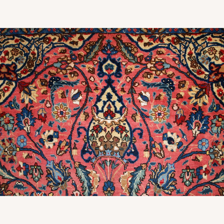 Handmade Antique Persian Lilihan Rug - image-15