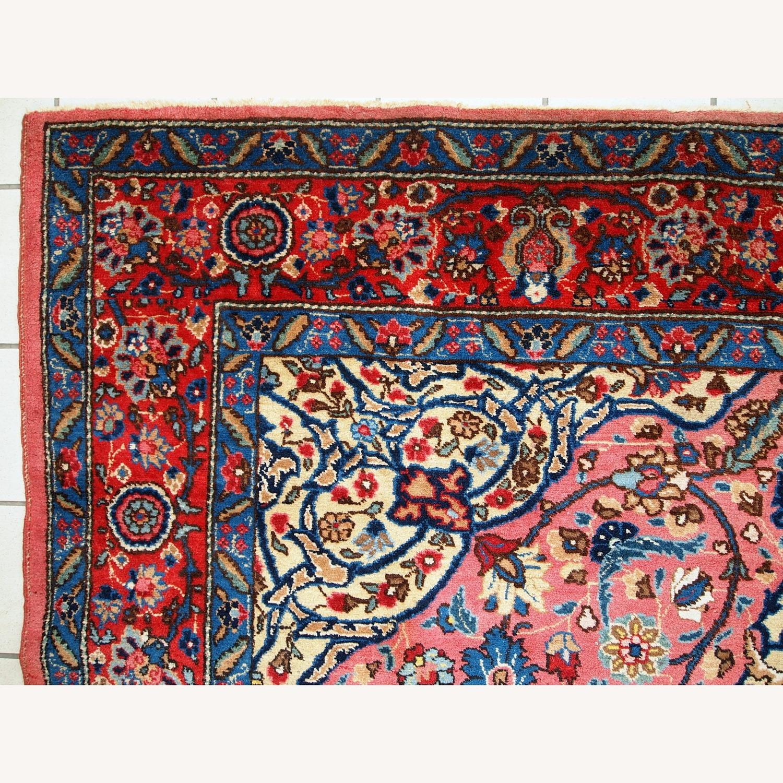 Handmade Antique Persian Lilihan Rug - image-13