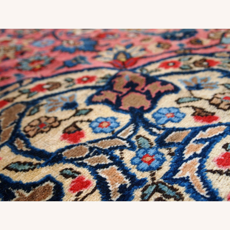 Handmade Antique Persian Lilihan Rug - image-9