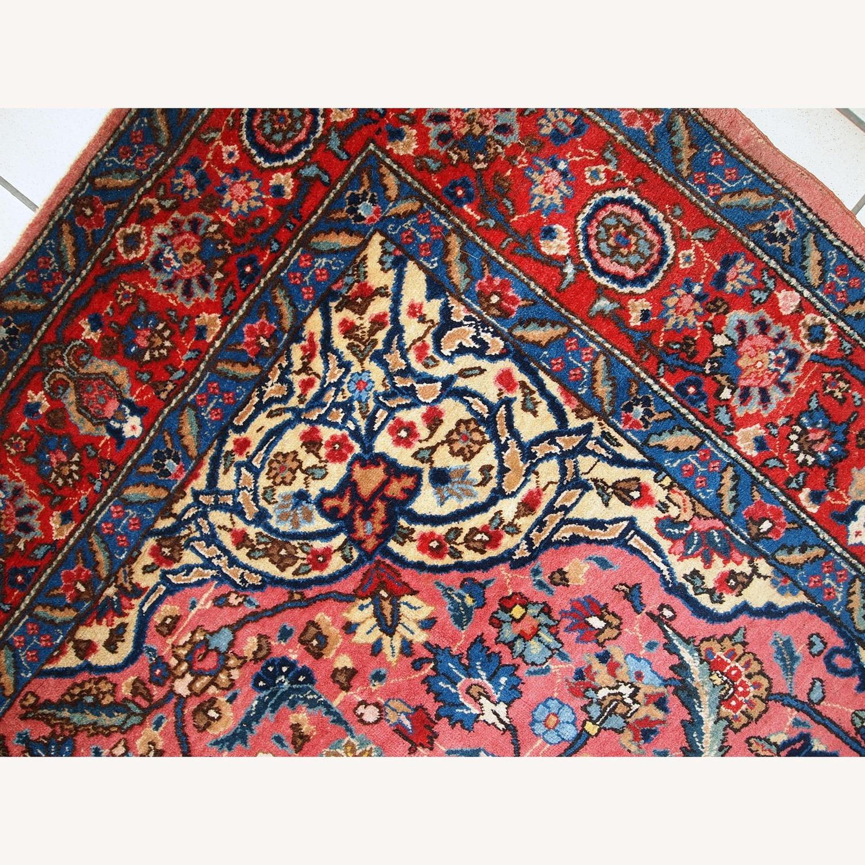 Handmade Antique Persian Lilihan Rug - image-4
