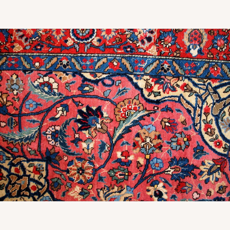 Handmade Antique Persian Lilihan Rug - image-17