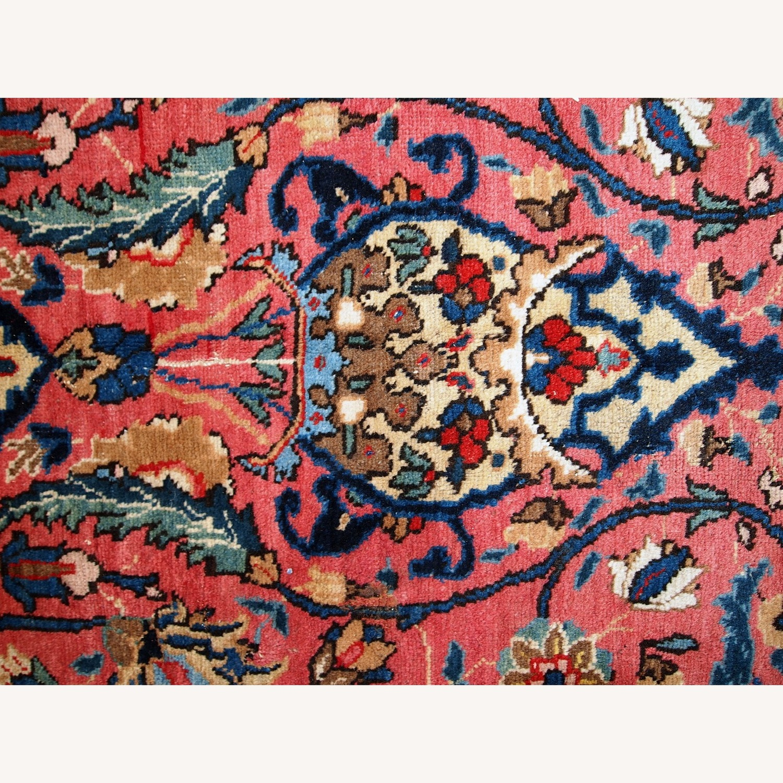 Handmade Antique Persian Lilihan Rug - image-5