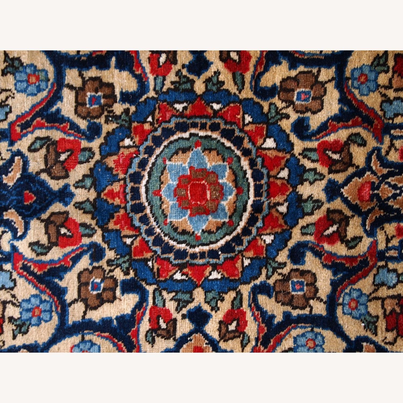 Handmade Antique Persian Lilihan Rug - image-16