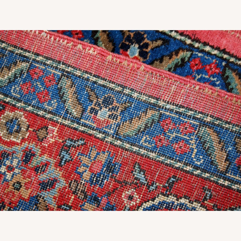 Handmade Antique Persian Lilihan Rug - image-3