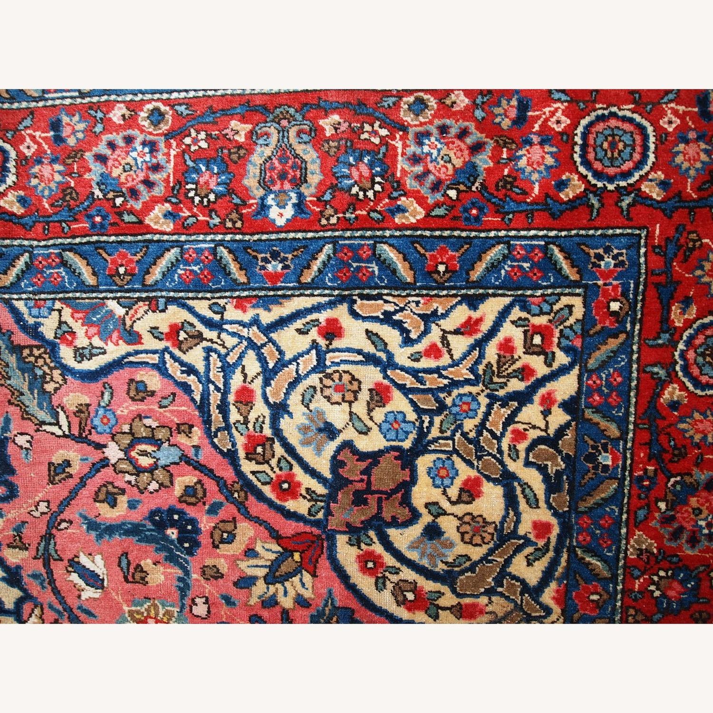 Handmade Antique Persian Lilihan Rug - image-6