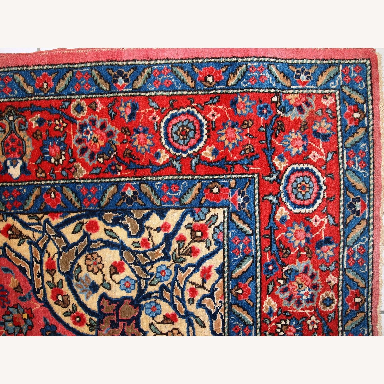 Handmade Antique Persian Lilihan Rug - image-8