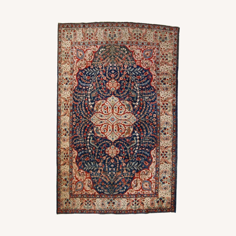 Handmade Antique Persian Tabriz Rug - image-0