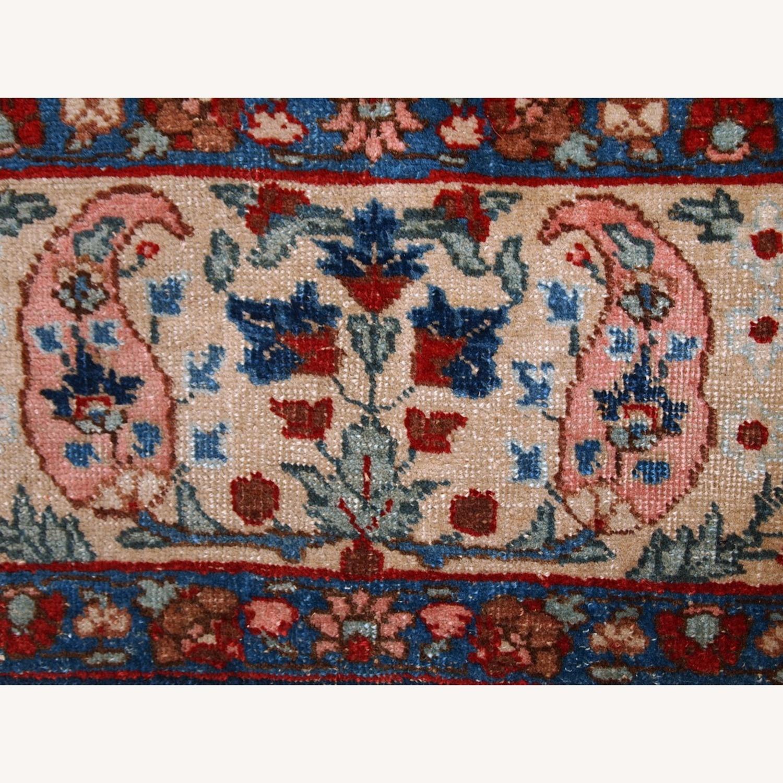 Handmade Antique Persian Tabriz Rug - image-14