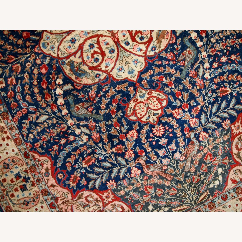 Handmade Antique Persian Tabriz Rug - image-15