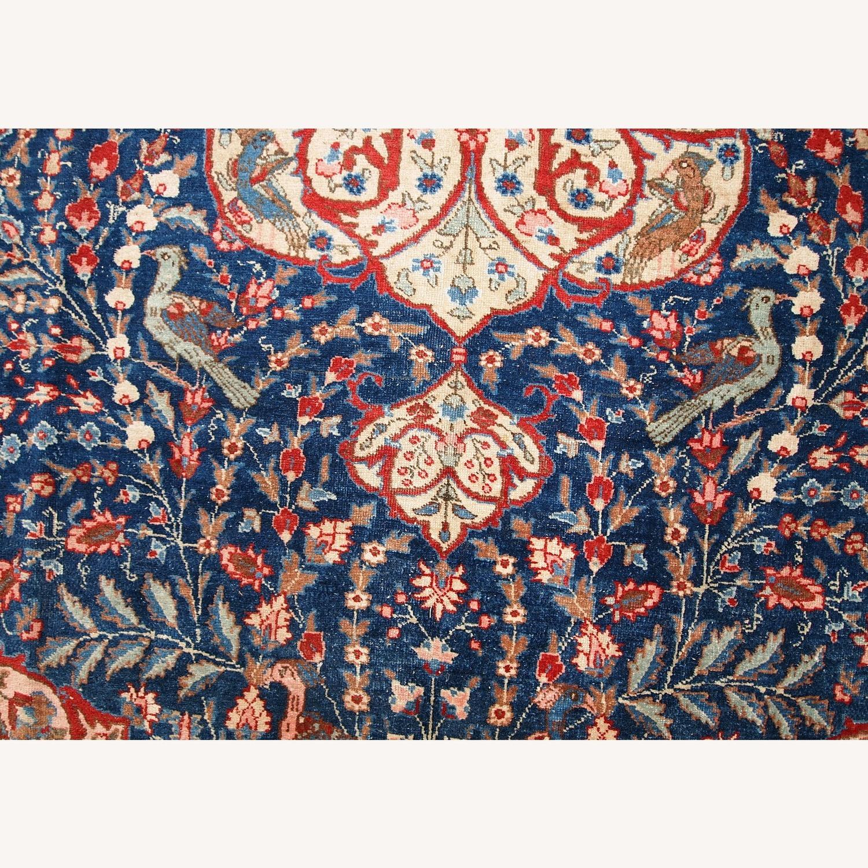 Handmade Antique Persian Tabriz Rug - image-18