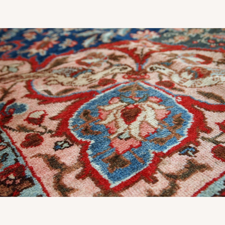 Handmade Antique Persian Tabriz Rug - image-3