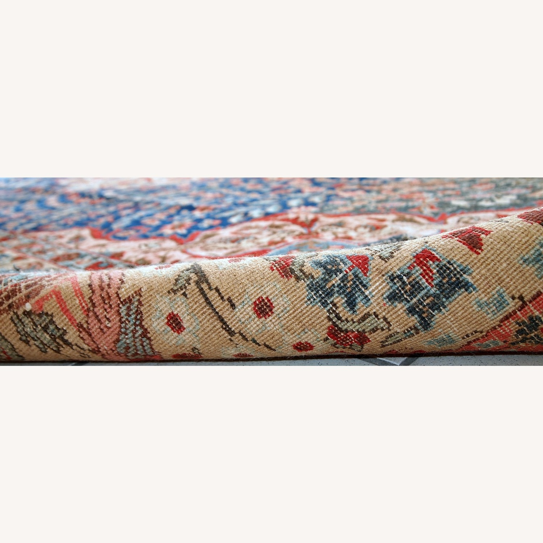 Handmade Antique Persian Tabriz Rug - image-12