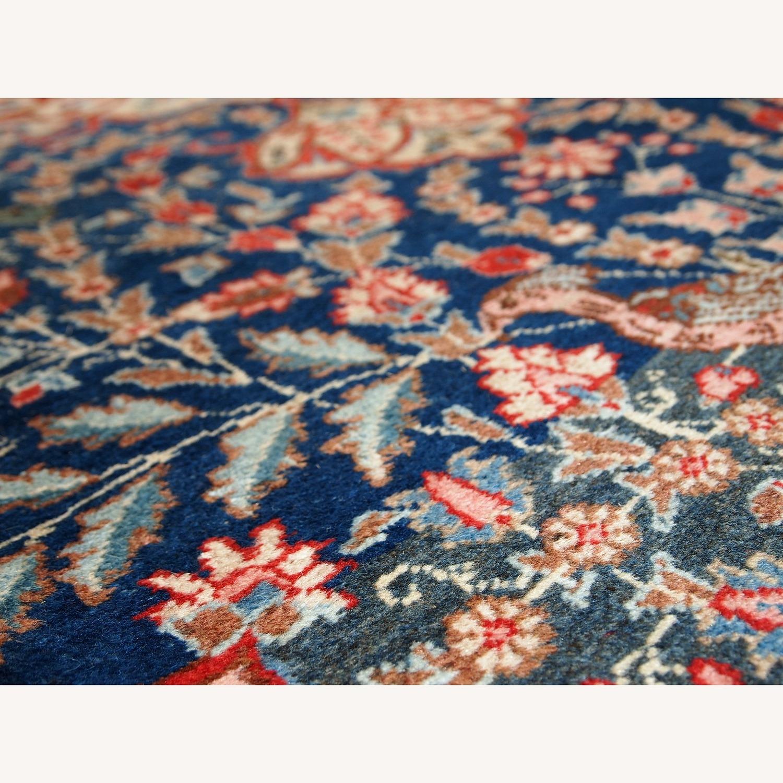 Handmade Antique Persian Tabriz Rug - image-4