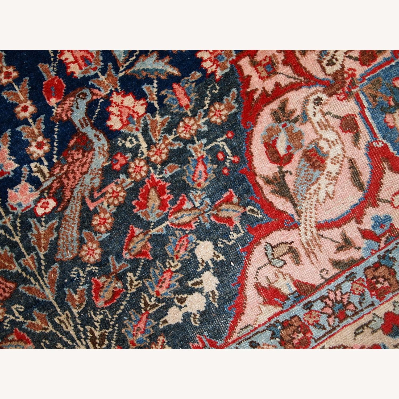 Handmade Antique Persian Tabriz Rug - image-17