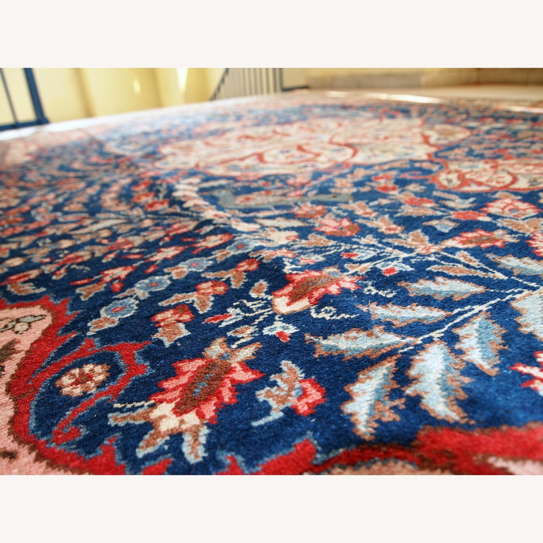 Handmade Antique Persian Tabriz Rug - image-2