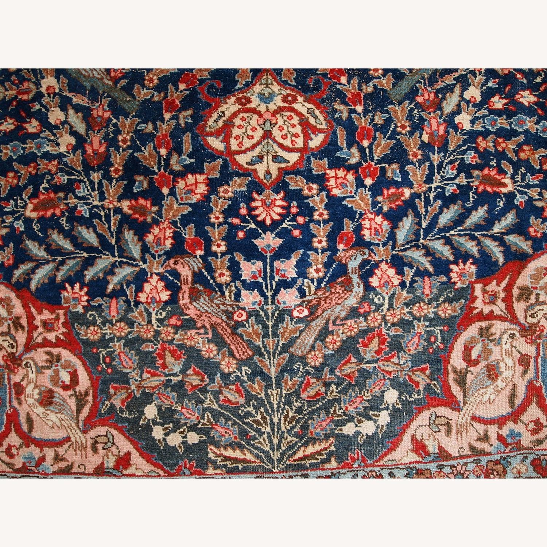 Handmade Antique Persian Tabriz Rug - image-16