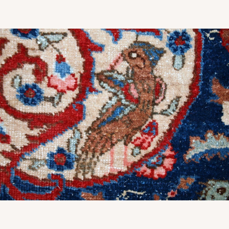 Handmade Antique Persian Tabriz Rug - image-11
