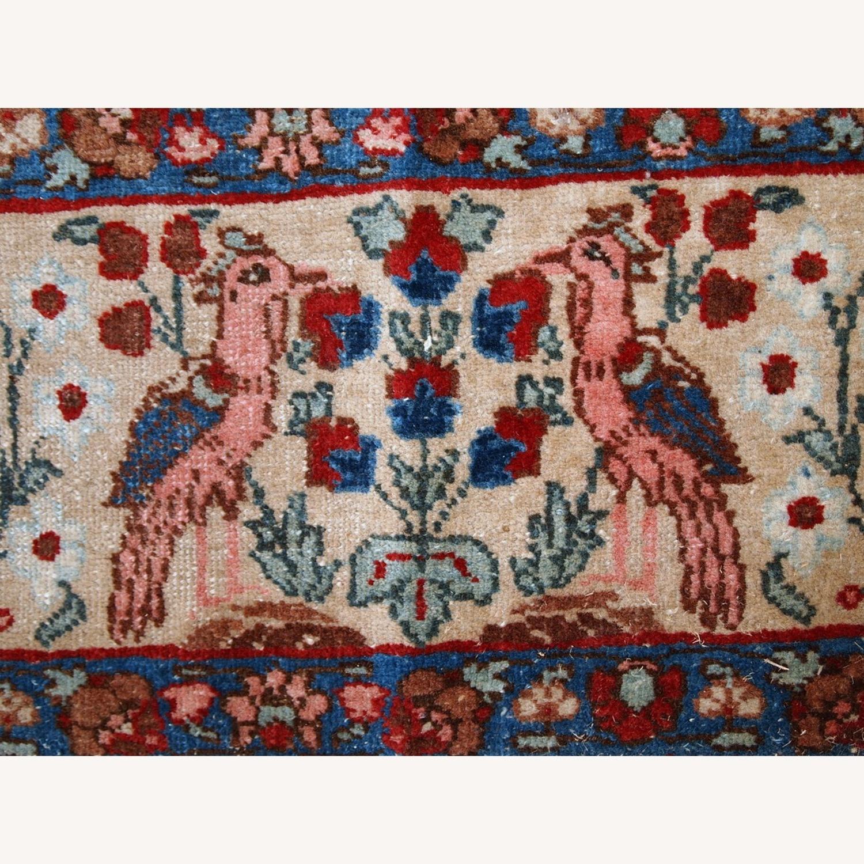 Handmade Antique Persian Tabriz Rug - image-6