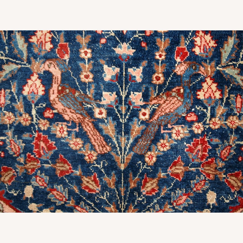 Handmade Antique Persian Tabriz Rug - image-13