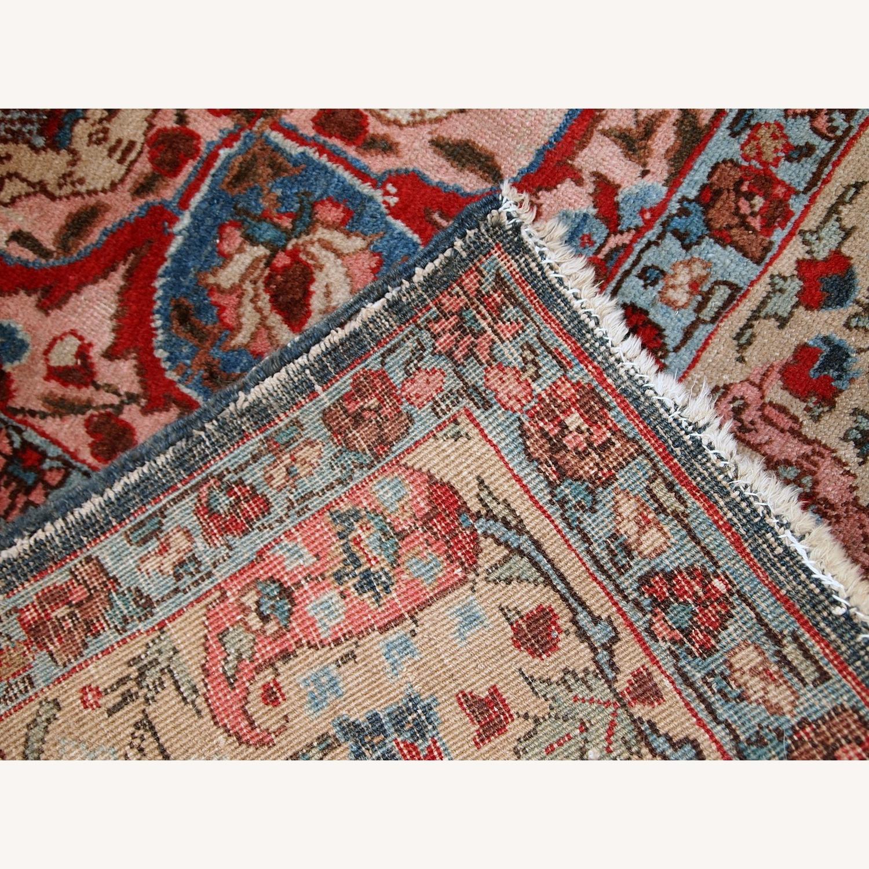 Handmade Antique Persian Tabriz Rug - image-21