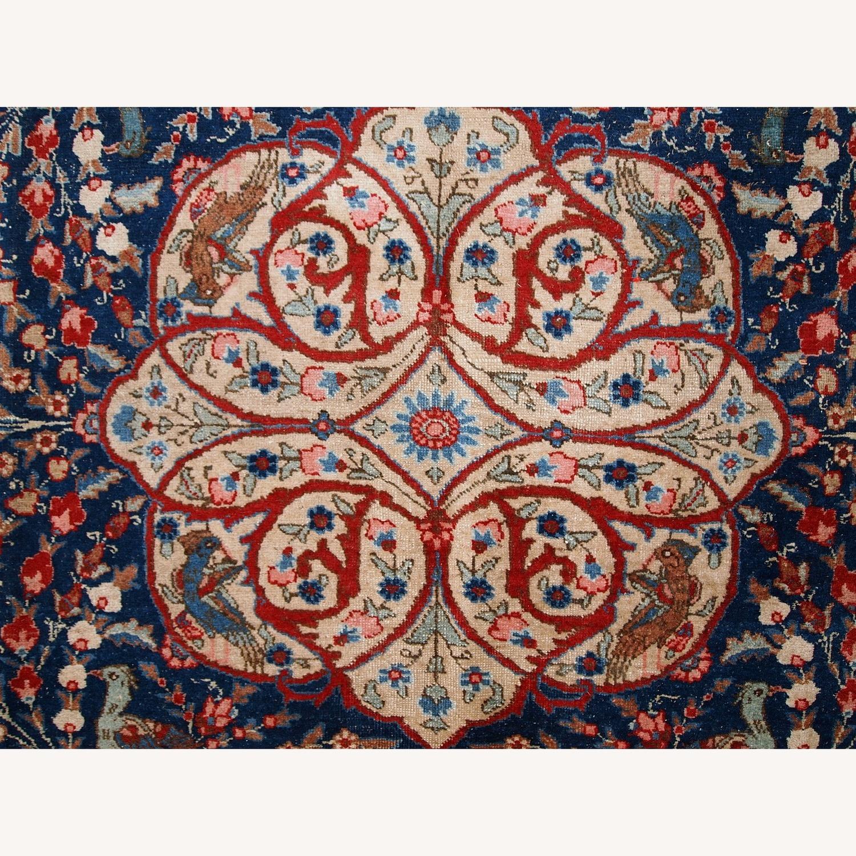 Handmade Antique Persian Tabriz Rug - image-22