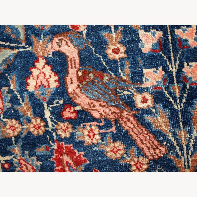 Handmade Antique Persian Tabriz Rug - image-9