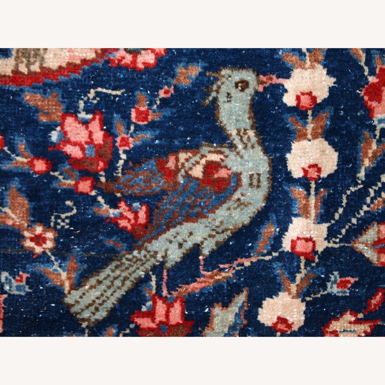Handmade Antique Persian Tabriz Rug - image-7