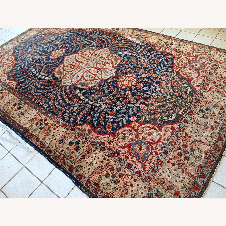 Handmade Antique Persian Tabriz Rug - image-19