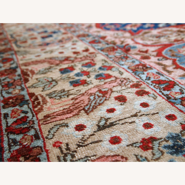 Handmade Antique Persian Tabriz Rug - image-25