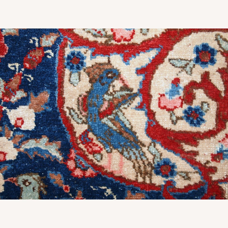 Handmade Antique Persian Tabriz Rug - image-23