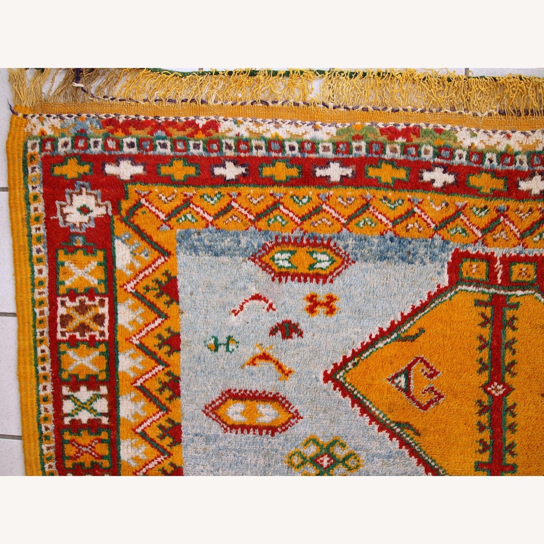 Handmade Antique Moroccan Berber Rug - image-10