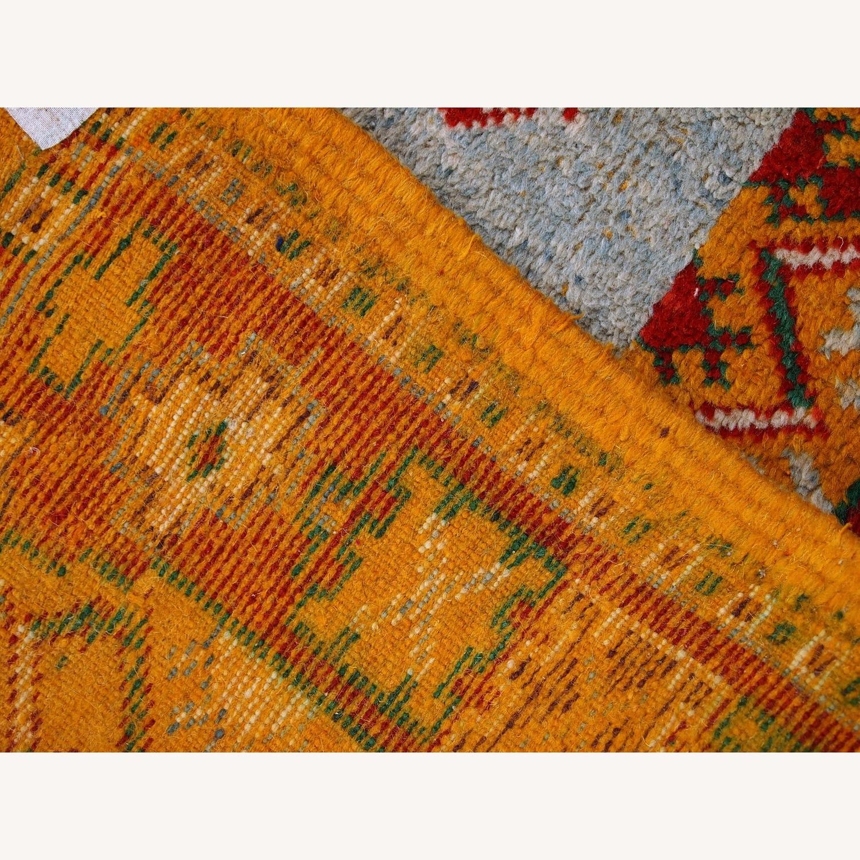 Handmade Antique Moroccan Berber Rug - image-7
