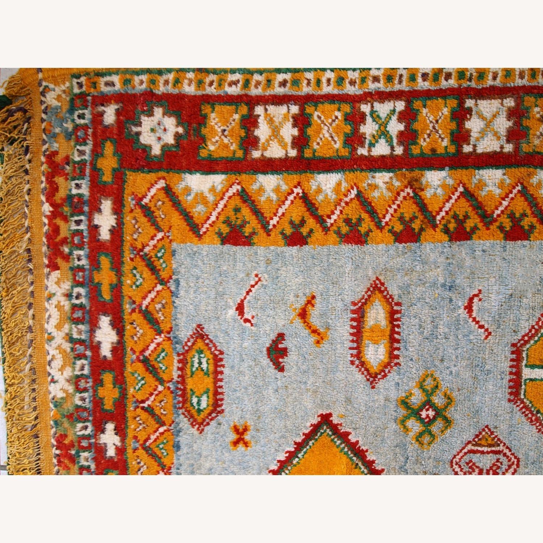 Handmade Antique Moroccan Berber Rug - image-9