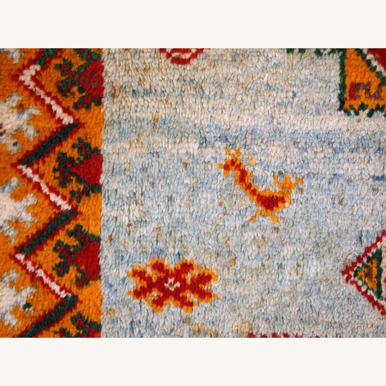 Handmade Antique Moroccan Berber Rug - image-4