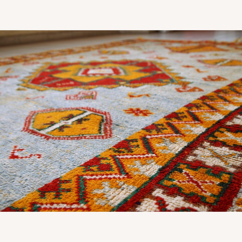 Handmade Antique Moroccan Berber Rug - image-5