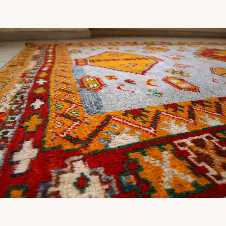 Handmade Antique Moroccan Berber Rug - image-6